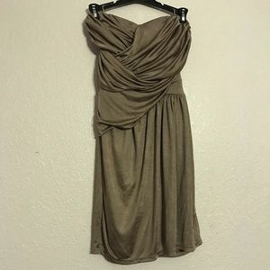 Express Drape detailed dress